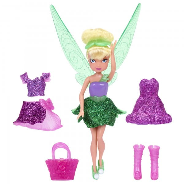 Игровой набор Disney Fairies Дисней Фея с нарядами - 11 см