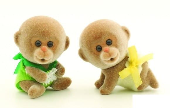 Купить Игровой набор Sylvanian Families Обезьянки-двойняшки в интернет магазине игрушек и детских товаров