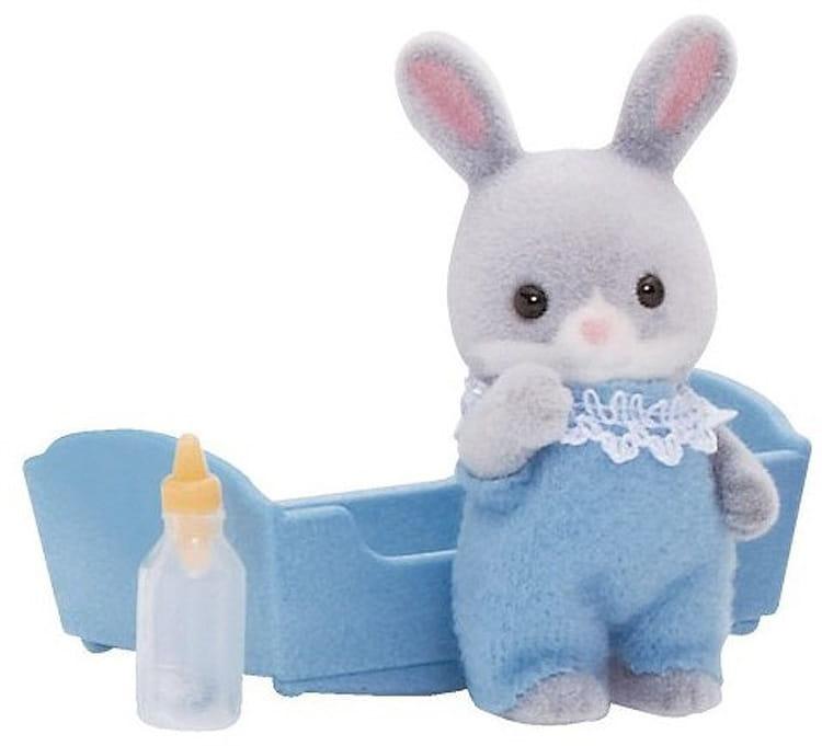 Игровой набор Sylvanian Families 3405 Малыш Серый кролик