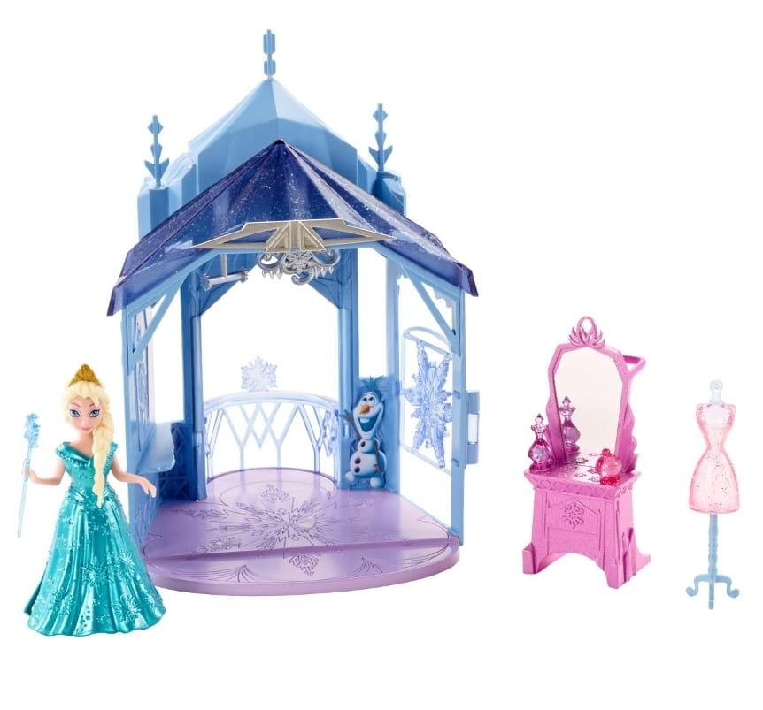 Игровой набор Disney Princess CJV52 Холодное сердце - Эльза с замком 2 (Mattel)