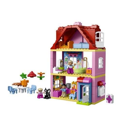 Купить Конструктор Lego Duplo Лего Дупло Кукольный домик в интернет магазине игрушек и детских товаров