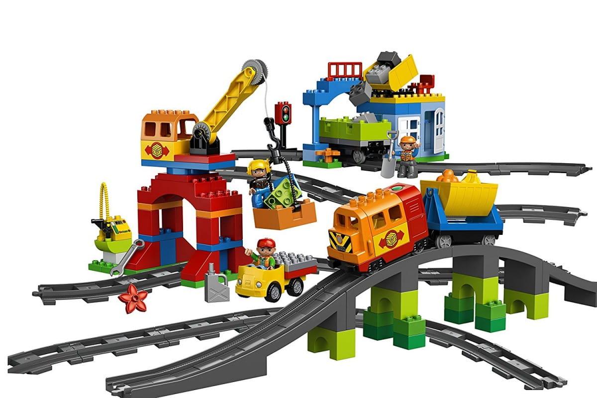 Конструктор Lego Duplo Лего Дупло Большой поезд