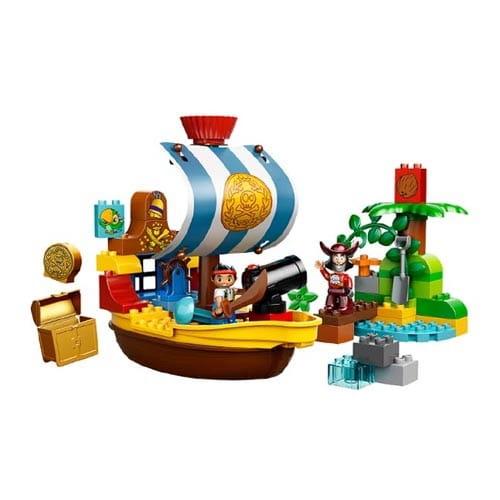 Купить Конструктор Lego Duplo Лего Дупло Пиратский корабль Джейка в интернет магазине игрушек и детских товаров