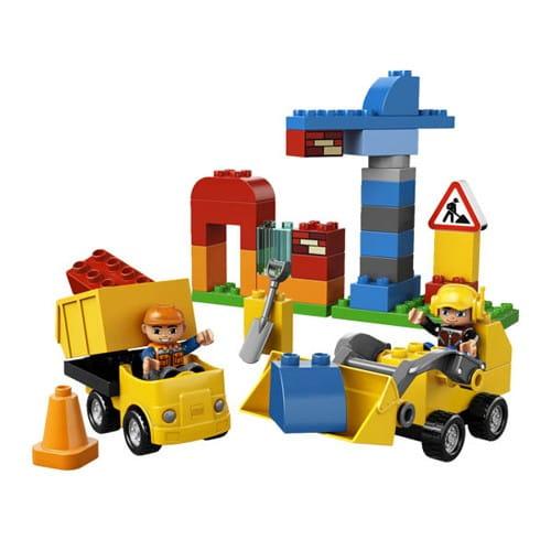 Купить Конструктор Lego Duplo Лего Дупло Моя первая стройплощадка в интернет магазине игрушек и детских товаров