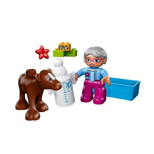 Купить Конструктор Lego Duplo Лего Дупло Теленок в интернет магазине игрушек и детских товаров