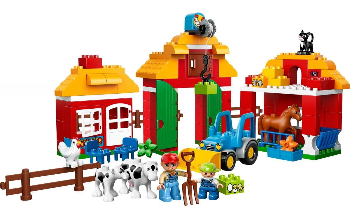 Конструктор Lego Duplo Лего Дупло Большая ферма
