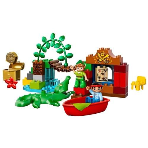 Купить Конструктор Lego Duplo Лего Дупло Питер Пэн в гостях у Джейка в интернет магазине игрушек и детских товаров