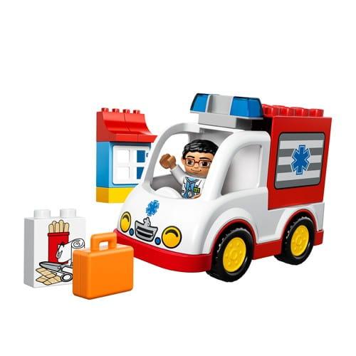 Купить Конструктор Lego Duplo Лего Дупло Скорая помощь в интернет магазине игрушек и детских товаров