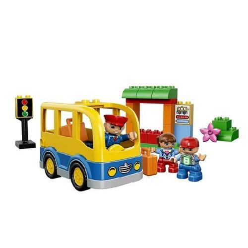 Купить Конструктор Lego Duplo Лего Дупло Школьный автобус в интернет магазине игрушек и детских товаров