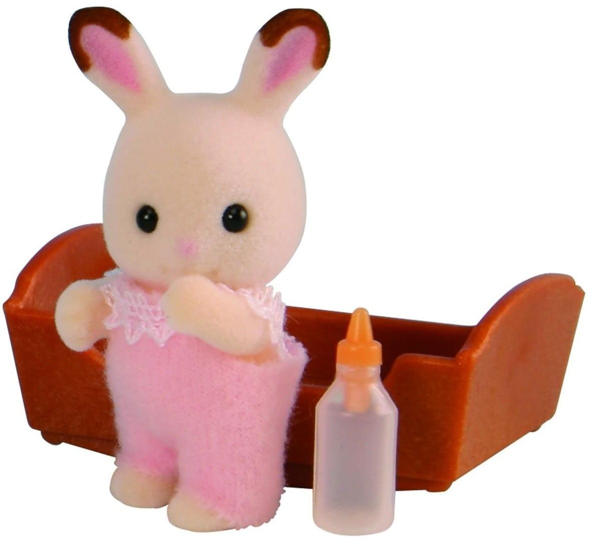 Игровой набор Sylvanian Families 3410 Малыш Шоколадный кролик