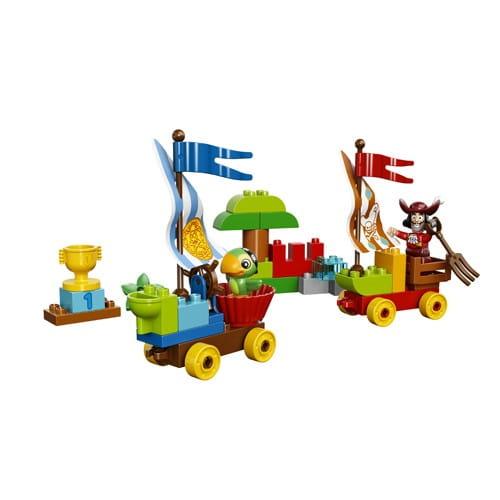 Купить Конструктор Lego Duplo Лего Дупло Джейк - Гонки на пляже в интернет магазине игрушек и детских товаров