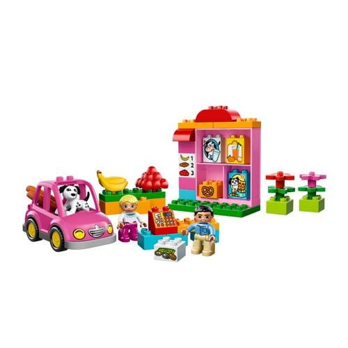 Купить Конструктор Lego Duplo Лего Дупло Супермаркет в интернет магазине игрушек и детских товаров