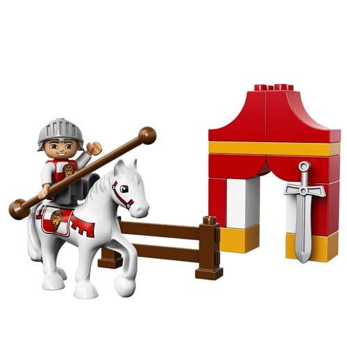 Купить Конструктор Lego Duplo Лего Дупло Рыцарский турнир в интернет магазине игрушек и детских товаров