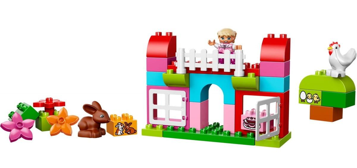 Купить Конструктор Lego Duplo Лего Дупло Лучшие друзья - Курочка и кролик в интернет магазине игрушек и детских товаров