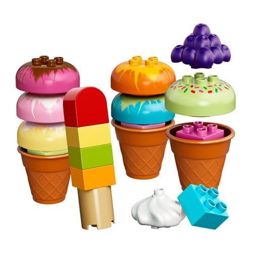 Купить Конструктор Lego Duplo Лего Дупло Веселое мороженое в интернет магазине игрушек и детских товаров