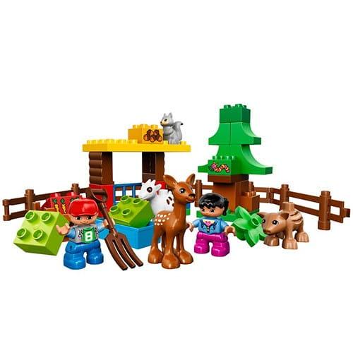 Купить Конструктор Lego Duplo Лего Дупло Лесные животные в интернет магазине игрушек и детских товаров