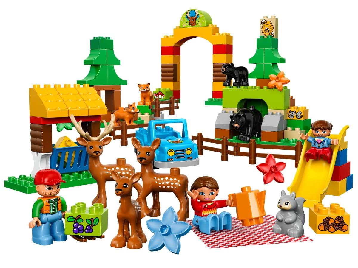 Конструктор Lego Duplo Лего Дупло Лесной заповедник