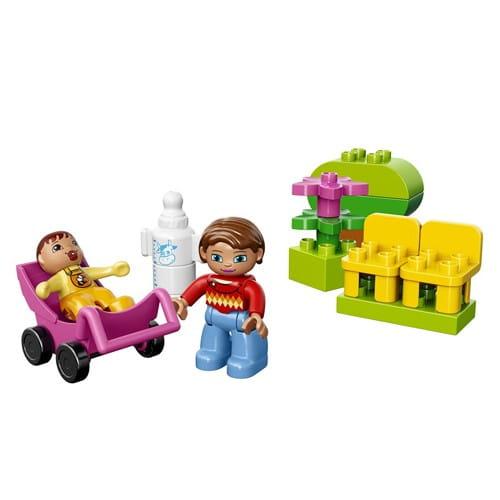 Купить Конструктор Lego Duplo Лего Дупло Мама и малыш в интернет магазине игрушек и детских товаров