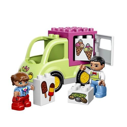 Купить Конструктор Lego Duplo Лего Дупло Фургон с мороженым в интернет магазине игрушек и детских товаров