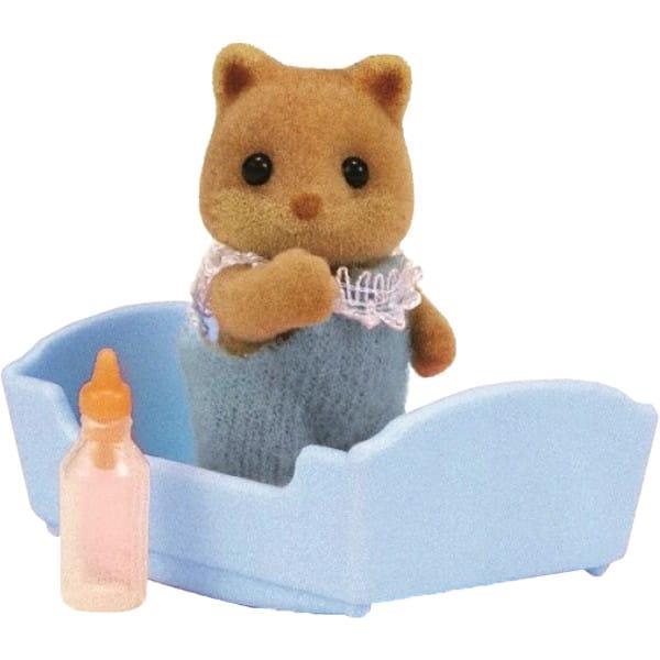 Купить Игровой набор Sylvanian Families Малыш Лисенок в интернет магазине игрушек и детских товаров