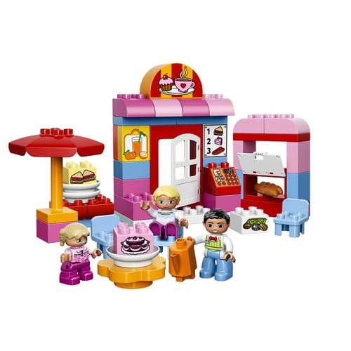 Купить Конструктор Lego Duplo Лего Дупло Кафе в интернет магазине игрушек и детских товаров