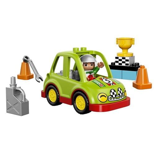 Конструктор Lego Duplo Лего Дупло Гоночный автомобиль