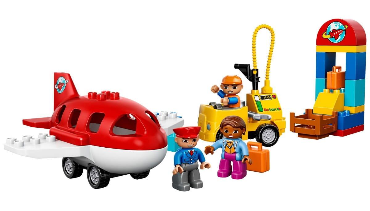 Конструктор Lego 10590 Duplo Лего Дупло Аэропорт