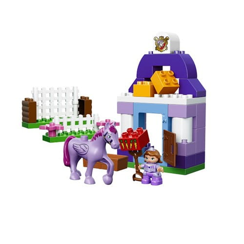 Купить Конструктор Lego Duplo Лего Дупло Прекрасная королевская конюшня Софии в интернет магазине игрушек и детских товаров