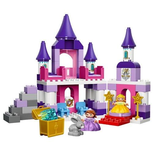 Купить Конструктор Lego Duplo Лего Дупло Прекрасный королевский замок Софии в интернет магазине игрушек и детских товаров