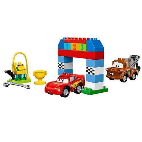 Купить Конструктор Lego Duplo Лего Дупло Гонки на Тачках в интернет магазине игрушек и детских товаров