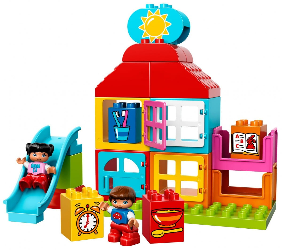 Купить Конструктор Lego Duplo Лего Дупло Мой первый игровой домик в интернет магазине игрушек и детских товаров