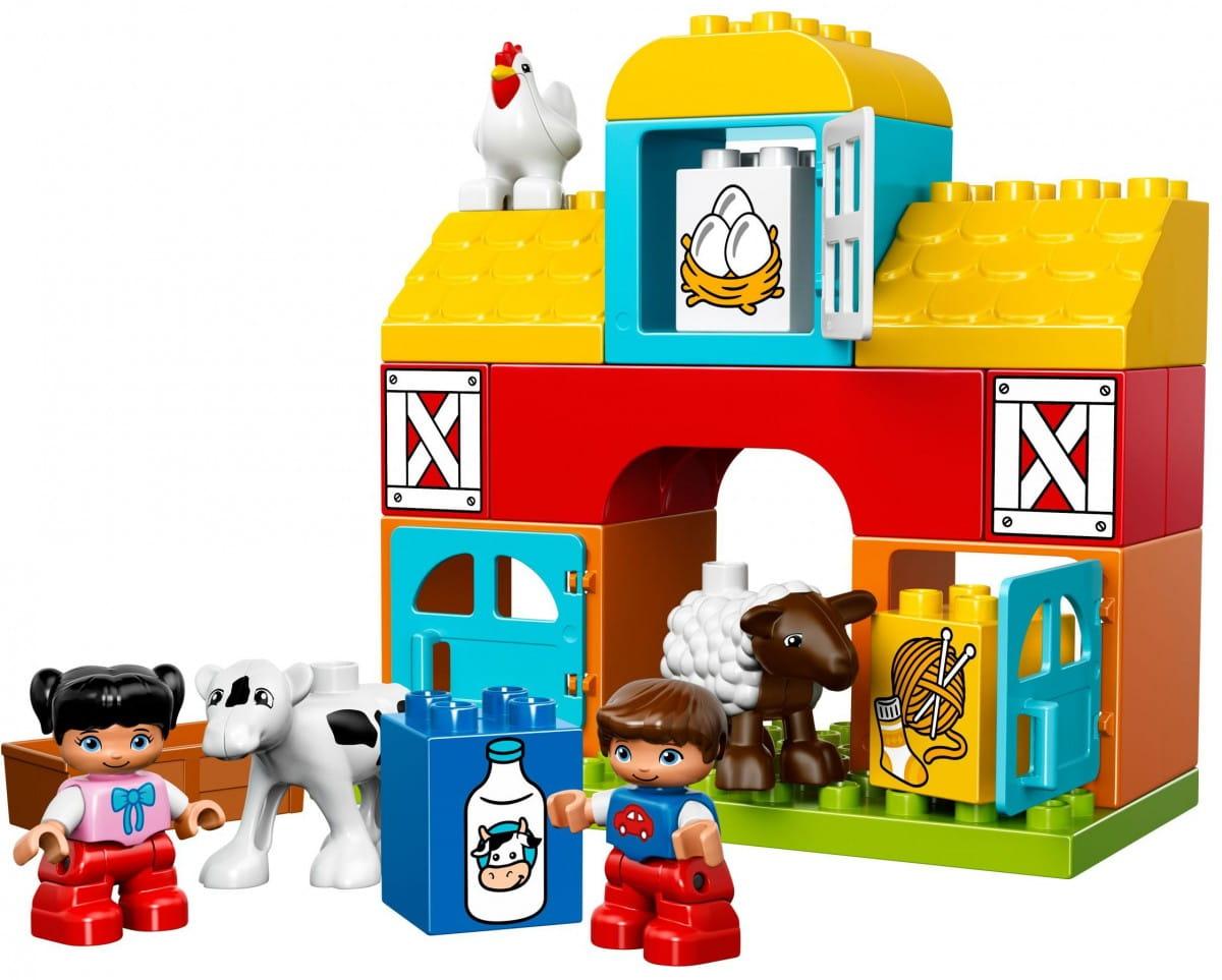 Купить Конструктор Lego Duplo Лего Дупло Моя первая ферма в интернет магазине игрушек и детских товаров
