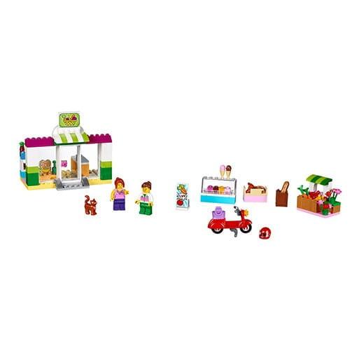 Конструктор Lego Juniors Лего Джуниорс Чемоданчик Супермаркет