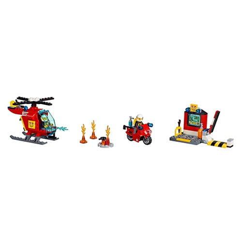 Конструктор Lego Juniors Лего Джуниорс Чемоданчик Пожар