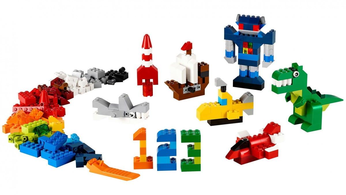 Купить Конструктор Lego Classic Лего Классик Дополнение к набору для творчества – Яркие цвета в интернет магазине игрушек и детских товаров