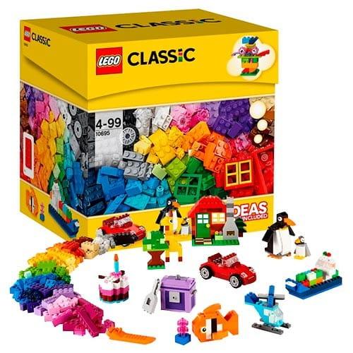 Купить Конструктор Lego Classic Лего Классик Набор для веселого конструирования в интернет магазине игрушек и детских товаров
