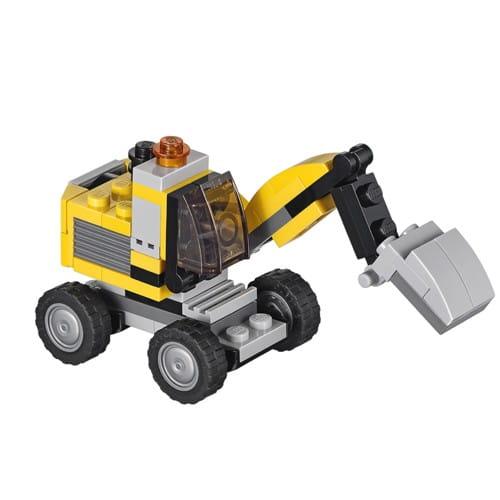 Купить Конструктор Lego Creator Лего Криэйтор Мощный экскаватор в интернет магазине игрушек и детских товаров
