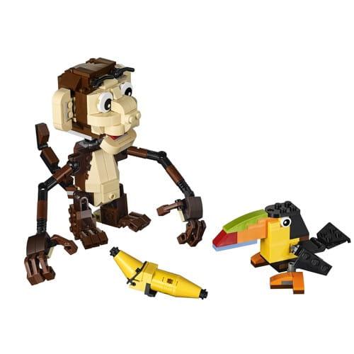 Купить Конструктор Lego Creator Лего Криэйтор Озорные животные в интернет магазине игрушек и детских товаров