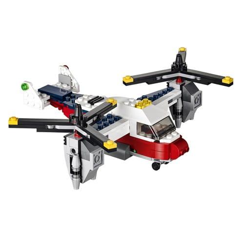 Купить Конструктор Lego Creator Лего Криэйтор Приключения на конвертоплане в интернет магазине игрушек и детских товаров