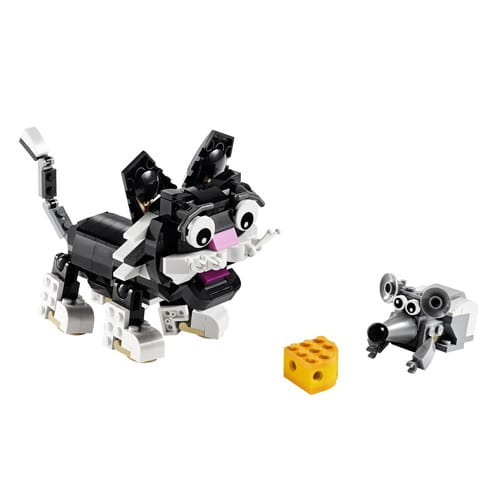 Купить Конструктор Lego Creator Лего Криэйтор Пушистые зверюшки в интернет магазине игрушек и детских товаров