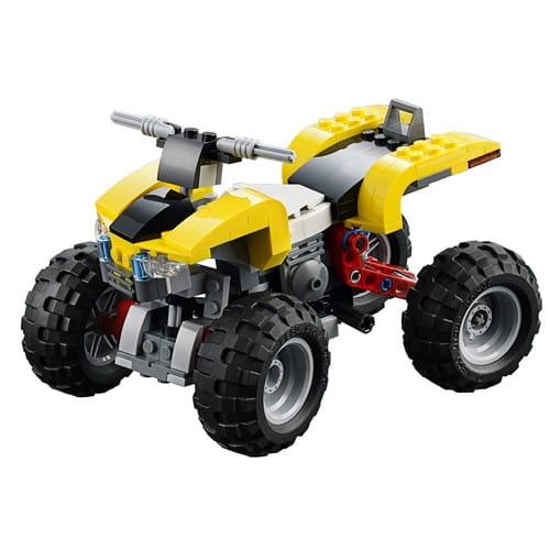 Купить Конструктор Lego Creator Лего Криэйтор Квадроцикл в интернет магазине игрушек и детских товаров