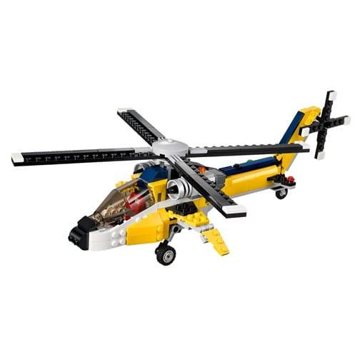 Купить Конструктор Lego Creator Лего Криэйтор Желтый скоростный вертолет в интернет магазине игрушек и детских товаров