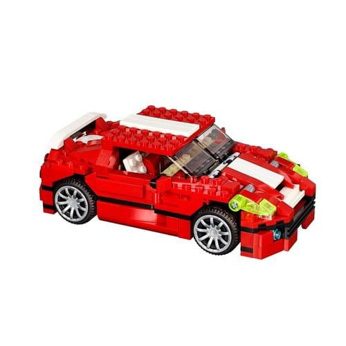 Купить Конструктор Lego Creator Лего Криэйтор Красный мощный автомобиль в интернет магазине игрушек и детских товаров