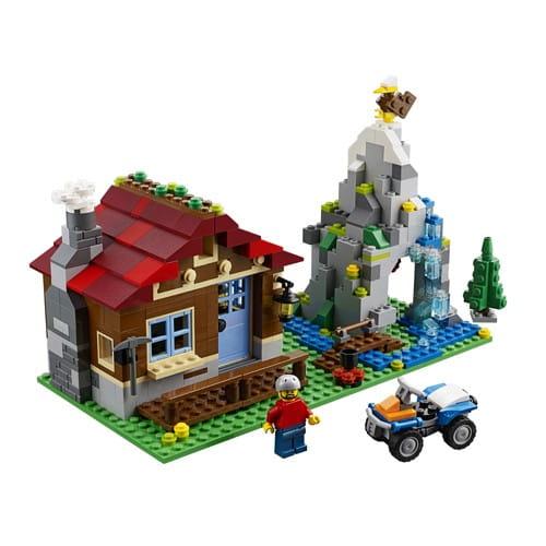Купить Конструктор Lego Creator Лего Криэйтор Домик в горах в интернет магазине игрушек и детских товаров