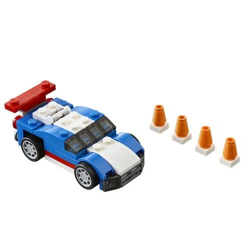 Конструктор Lego Creator Лего Криэйтор Синий гоночный автомобиль