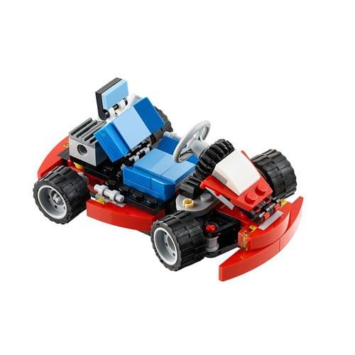 Купить Конструктор Lego Creator Лего Криэйтор Красный гоночный карт в интернет магазине игрушек и детских товаров