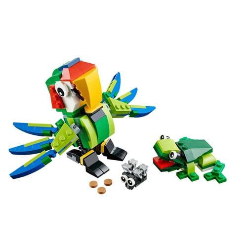 Купить Конструктор Lego Creator Лего Криэйтор Животные джунглей в интернет магазине игрушек и детских товаров
