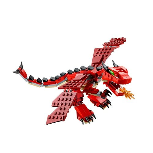 Конструктор Lego Creator Лего Криэйтор Огнедышащий дракон