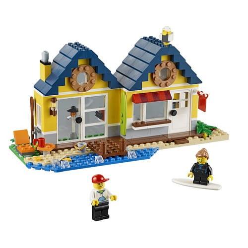 Купить Конструктор Lego Creator Лего Криэйтор Домик на пляже в интернет магазине игрушек и детских товаров