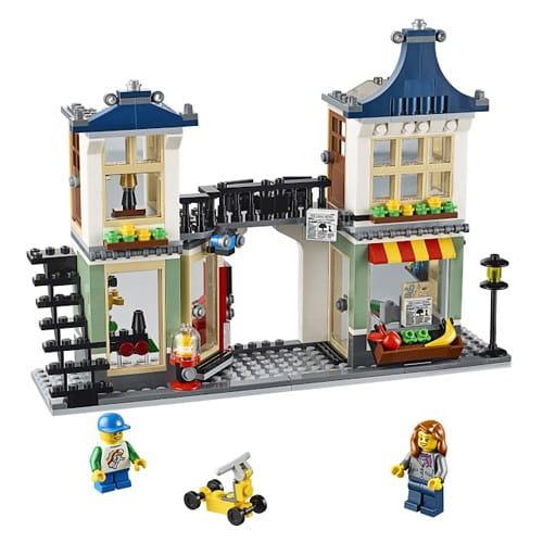 Конструктор Lego Creator Лего Криэйтор Магазин по продаже игрушек и продуктов